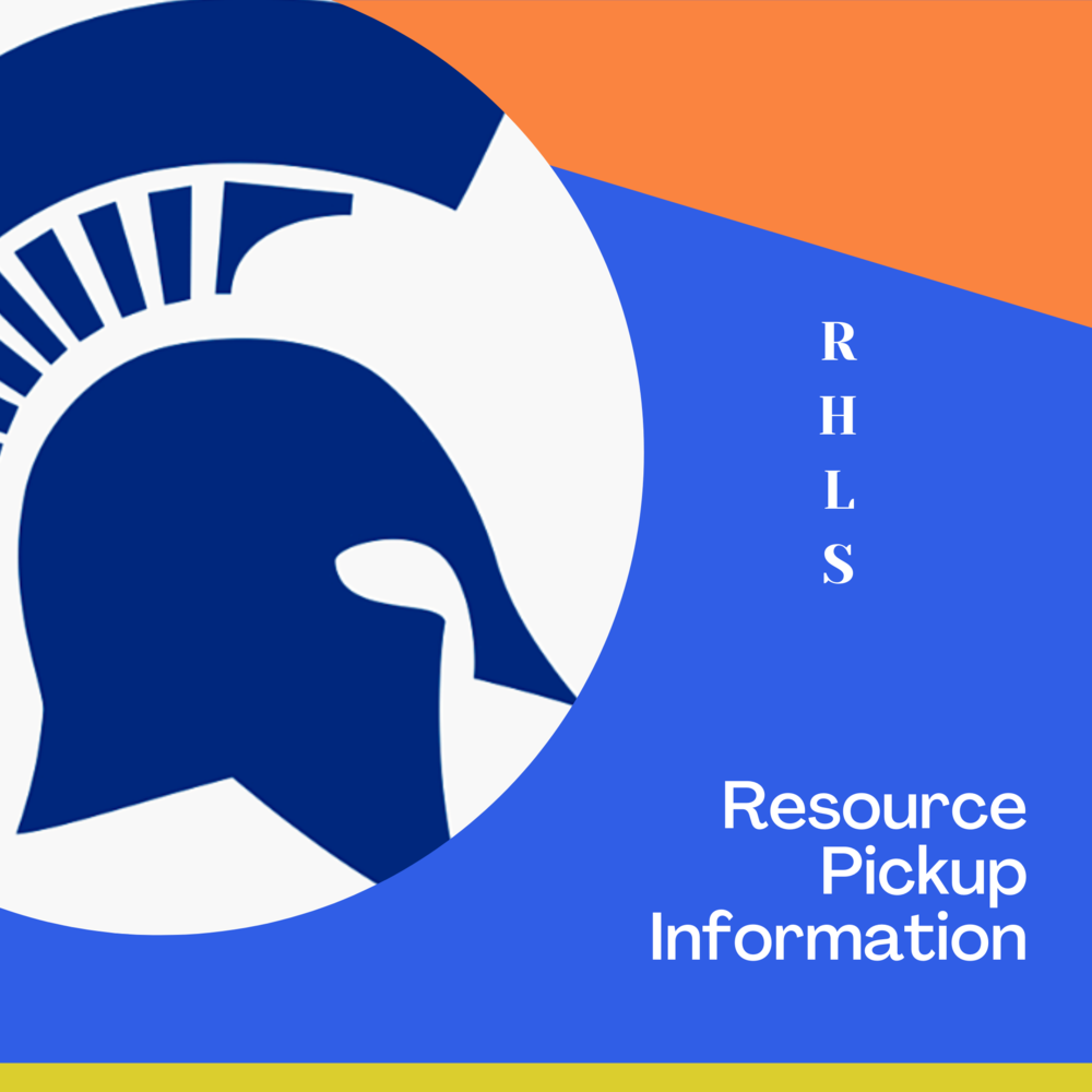 OUR BACK TO SCHOOL RESOURCE PICKUP SCHEDULE